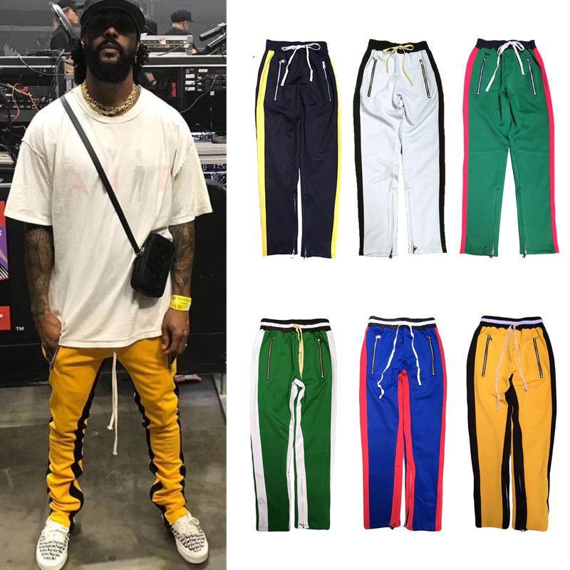 4fd7ab9c7 2019 H.A. Sueno 2018 New Men Track Pants Hip Hop Men S Pants With ...