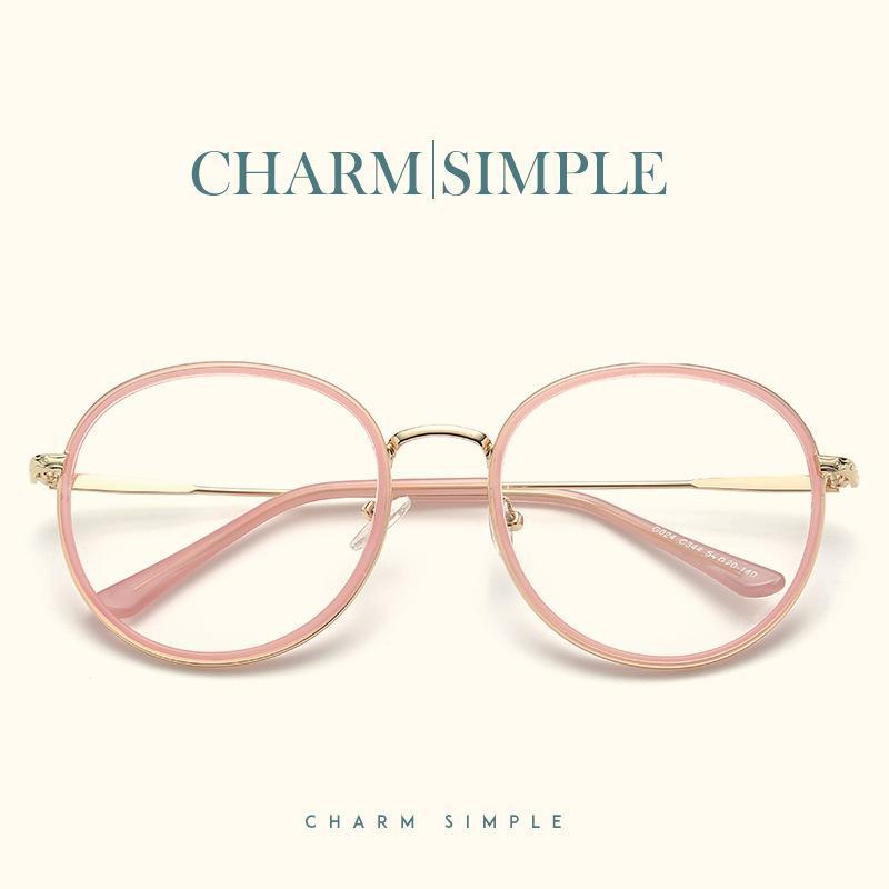 2d572abcc159 2019 2018 Retro Round Glasses Frames Fashion Women Men Myopia Optical Frame  Excellent Clear Lens Eyeglasses Vintage Spectacles Frames From Vintage66