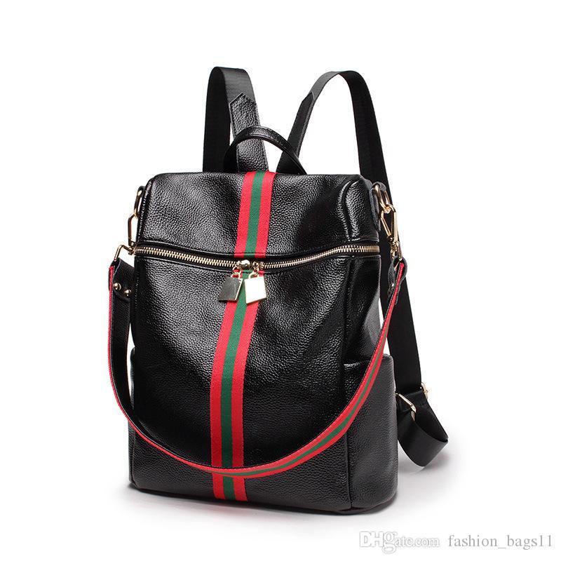 a1f9b8fc2ebd 2018 Fashion Women Lady Backpack Style Rucksack Bag Portable ...