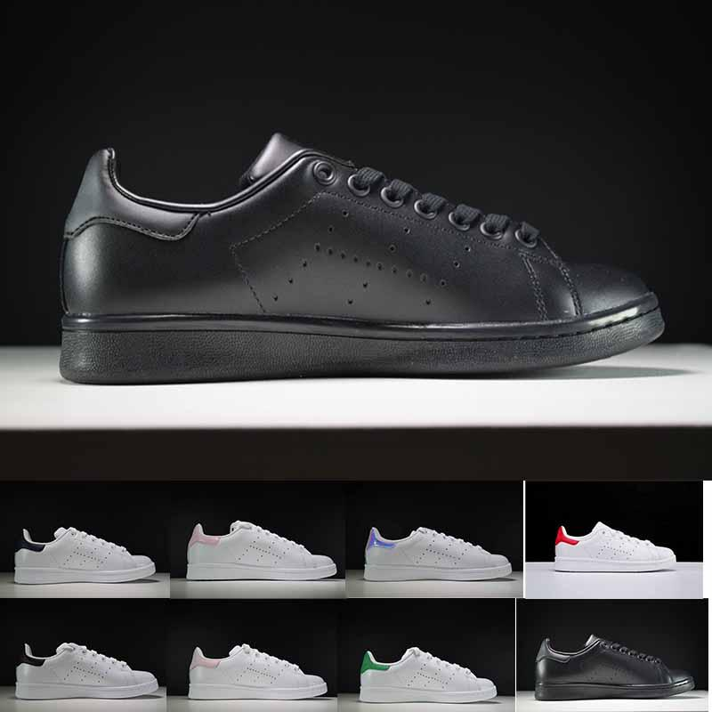 newest e1415 650dc new arrive 2019 Raf Simons Stan Smith Spring Copper White Pink Black  Fashion Shoes Man Casual Leather brand woman man shoes Flats