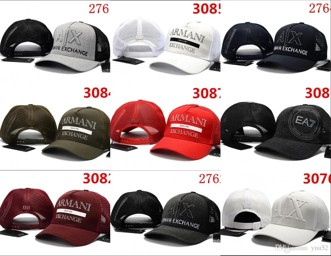 d99049a6d35 2018 Hot New Fashion AX Hats Brand Hundreds Strap Back Men Women ...