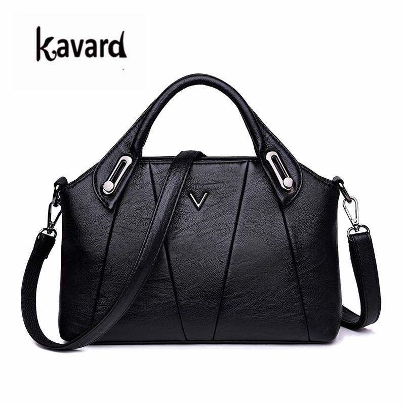 most fashionable attractive colour exclusive range Kavard Brand Handbags Women Designer Black Soft Leather Ladies Hand Bags  Shoulder Bag Crossbody Bags For Women Tote Bag Sac New