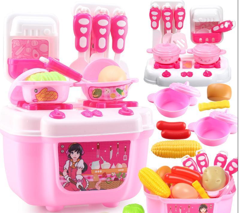 Compre juguetes ni os juguetes de cocina 1 2 3 a os de - Cocina ninos juguete ...