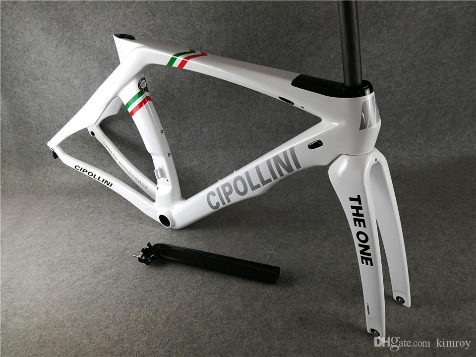 Bayrak İtalya Cipollini RB1K BIR İtalyan Şampiyonu Rahmenset Karbon Yol Çerçeve Tam karbon fiber yol bisikleti bisiklet frameset