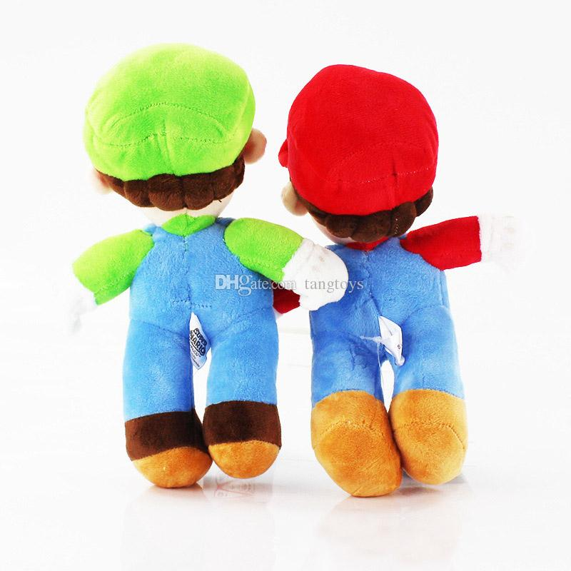 10inch Plush Toys Super Mario Bros Cartoon Soft Stuffed Dolls Animals Game Movie Action Firgures for Kids Xmas Gifts