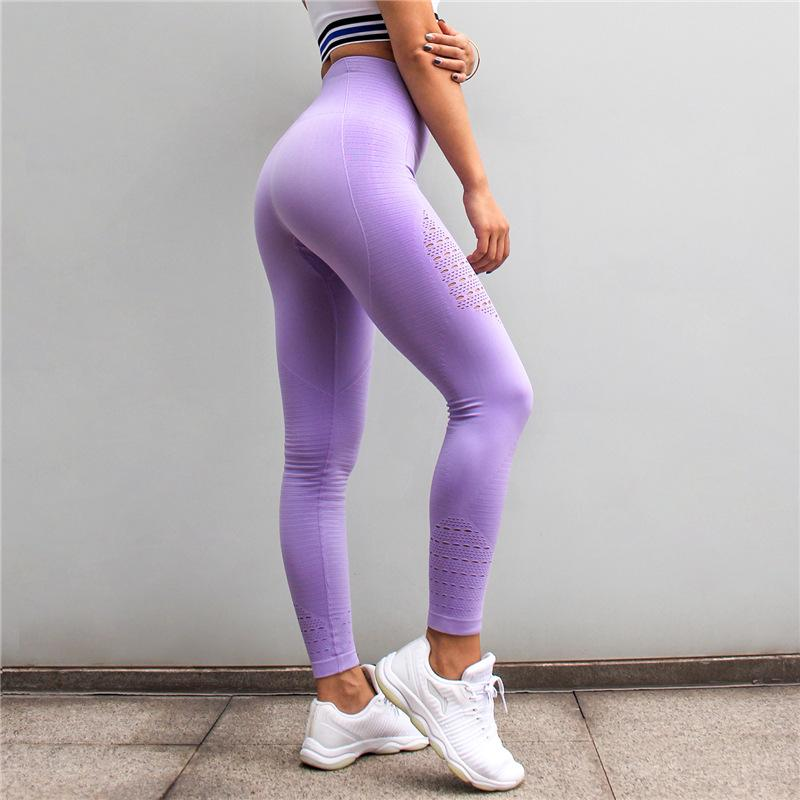 b950d85ee9999b Women's Seamless Yoga Leggings Yoga Pants Ladies butt lift nepoagym Tights  Fitness Sports Running Tights Hollow Pants