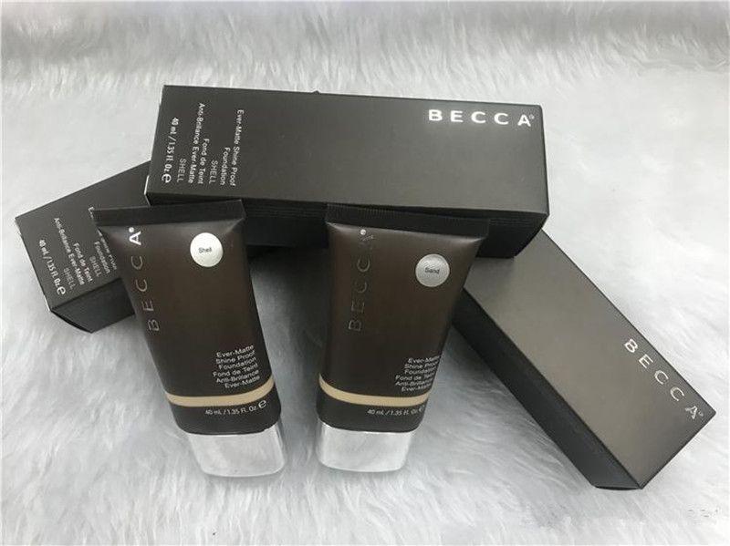 Em estoque!!! Maquiagem Becca Fundação Sempre Shine Prova Fundação Areia e Shell Bb Creme Dropshipping