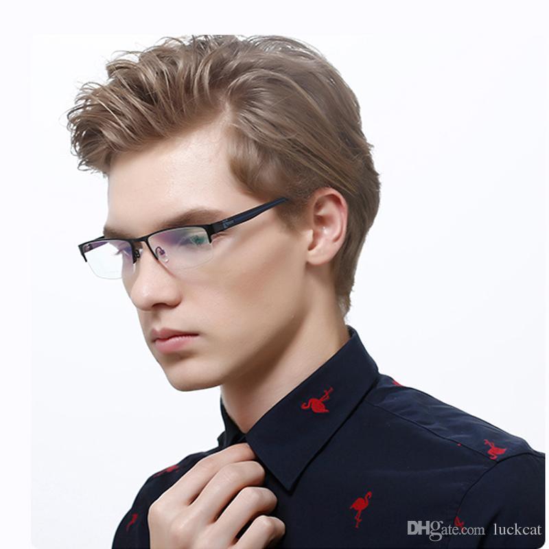 76134d9225 2019 Carfia Vintage Optical Eye Glasses Men Frame Myopia Square Metal  Unisex Spectacles Eyeglasses Frames Men 10116 Oculos De Grau Eyewear From  Luckcat