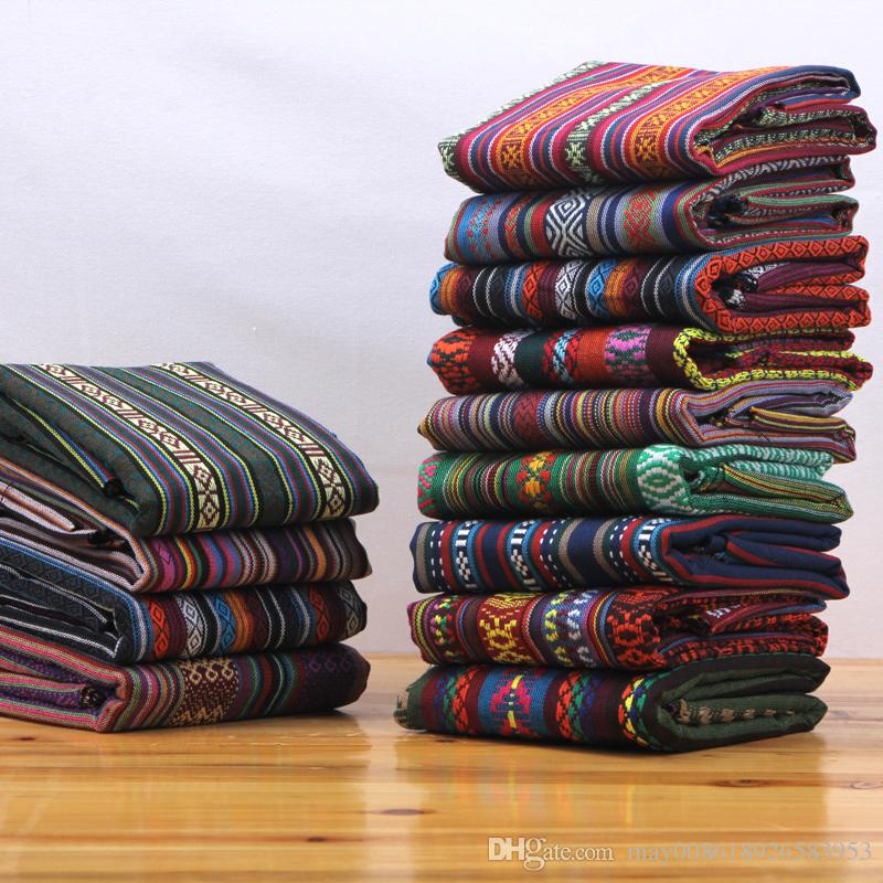 Ethnic Style Cloth Cotton And Linen Vintage Linen Bohemian Fabric Sofa  Fabric Online With $22.0/Piece On May008618926583953u0027s Store | DHgate.com