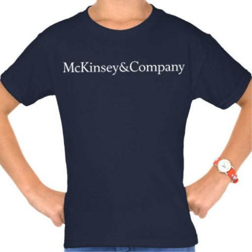 McKinsey & Company consulting firm t-shirtFunny free shipping Unisex tee