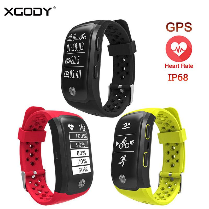 5fa509b37e16f ... Reloj Inteligente A Prueba De Agua IP68 Monitor De Ritmo Cardíaco  Sedentario Recordatorio Smart Sport Band GPS Smartband Conectar IOS Android  Celulares ...