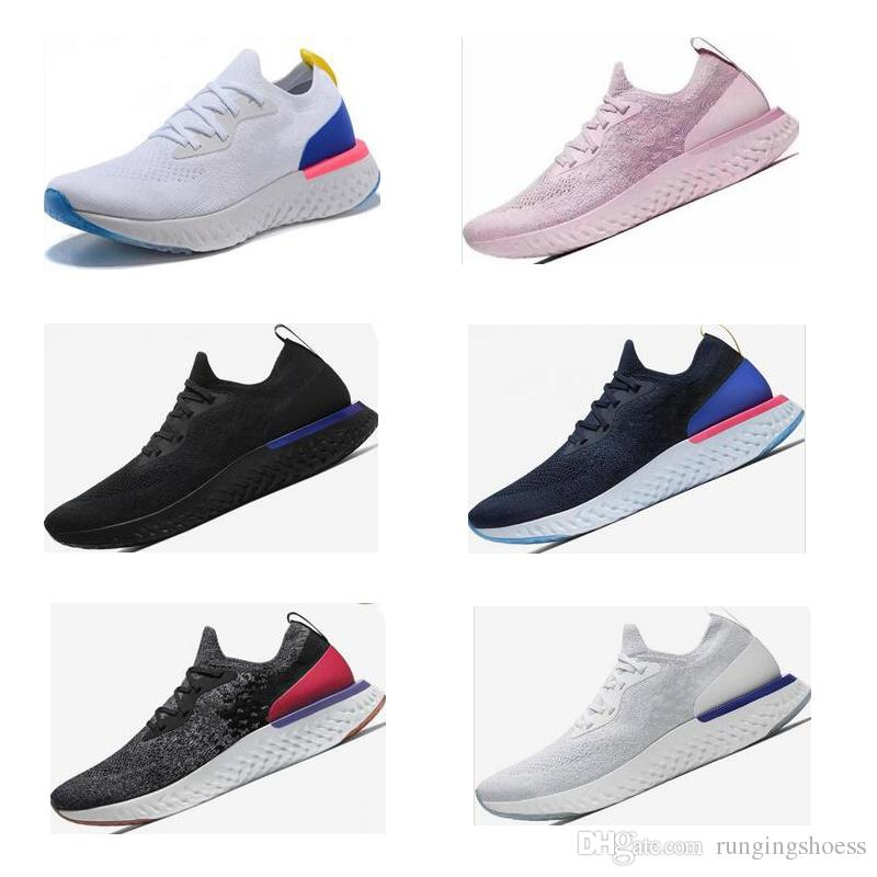 e7dcb966d110 2019 Epic React Instant Go Fly Men Women Running Shoes Causal Mesh  Breathable Sport Athletic Trains Designer Sneakers Eur36 45 From  Rungingshoess