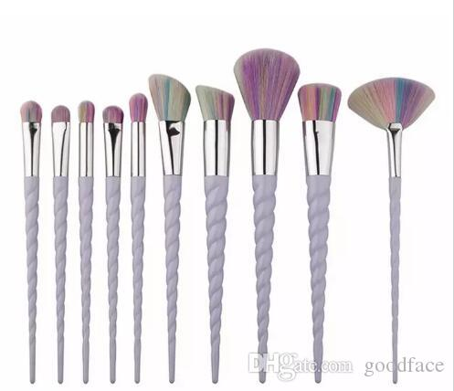 Factory Direct DHL Free Unicorn Makeup Brushes Makeup Brushes Tools Tech Professional Beauty Cosmetics Brushes Sets hot new