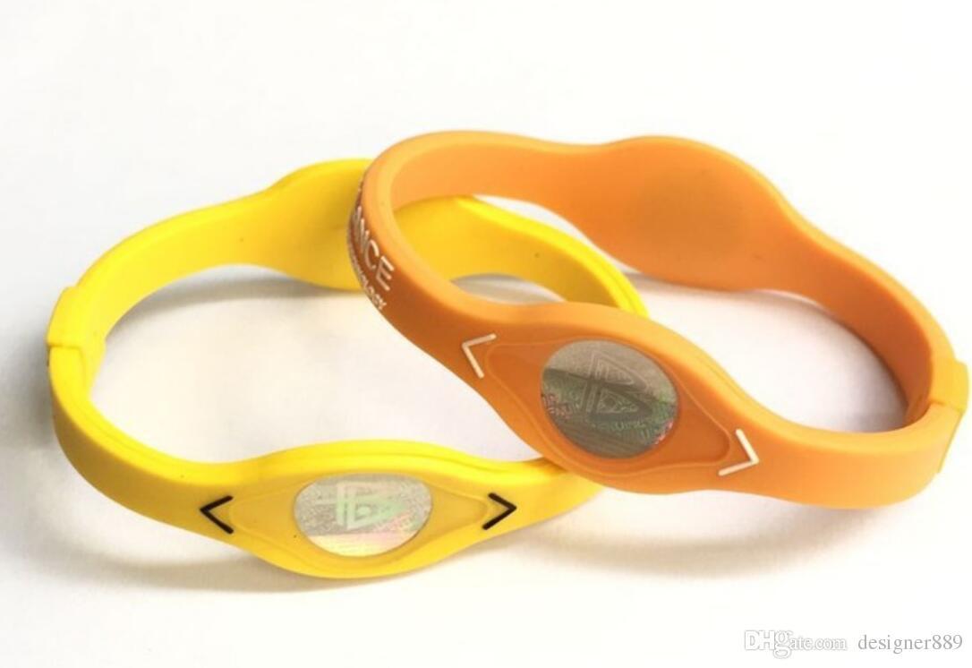 Atacado mais novo de promoção barata pulseira pulseiras de Energia silicone esportes equilíbrio pulseira para o navio livre melhor presente
