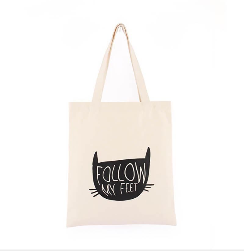 eb52a158e 36cm*31cm Canvas Cotton Tote Bag Customized Logo Fashion Women Eco Bag For  Company Advertising University Activity Bags Wholesale Wholesale Leather  Handbags ...