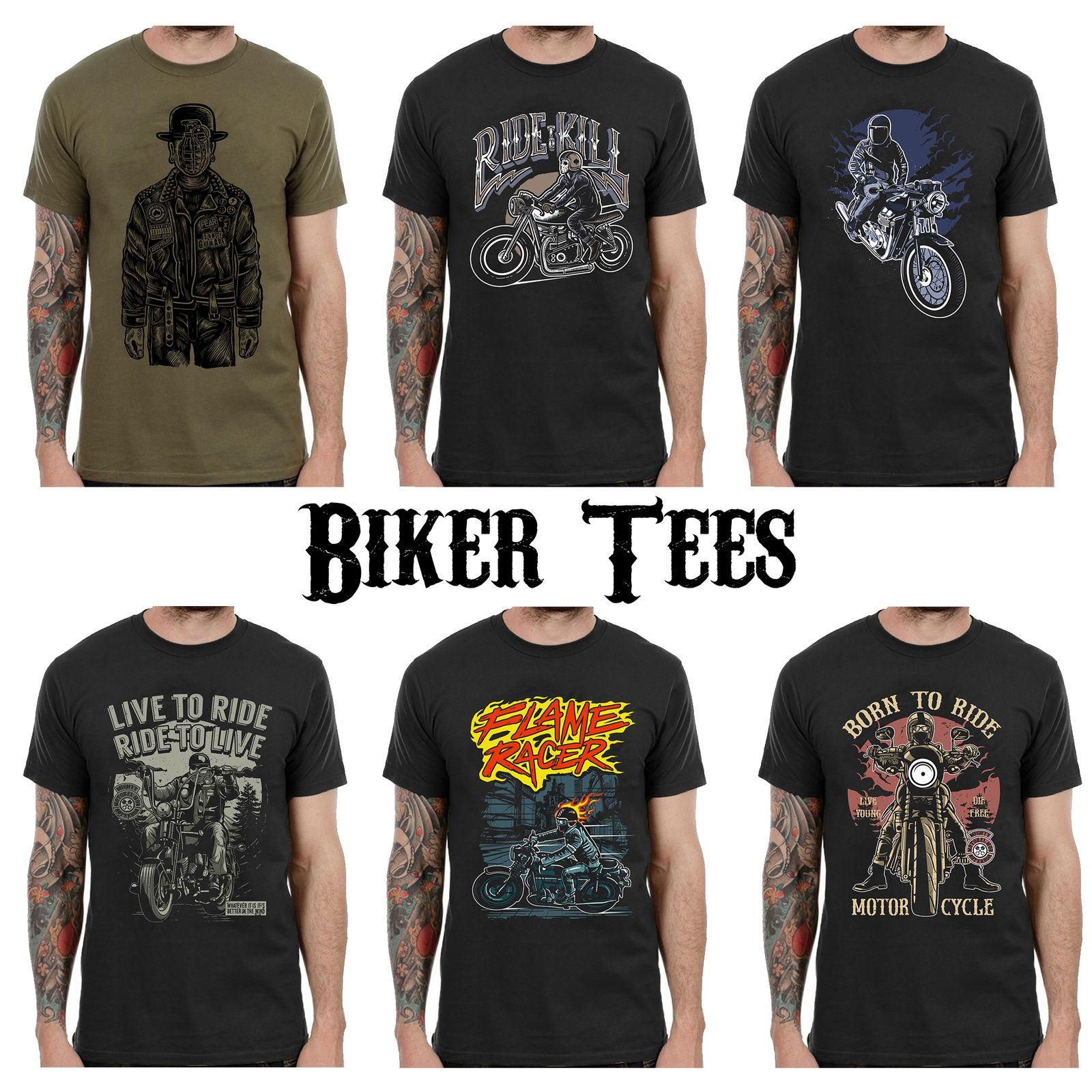 d5354c395 Biker T Shirts Motorcycle Graphic Tshirt Clothing Men Women Kids Printed  L188 Cool Casual Pride T Shirt Men Unisex New Trendy T Shirts Offensive  Shirts From ...