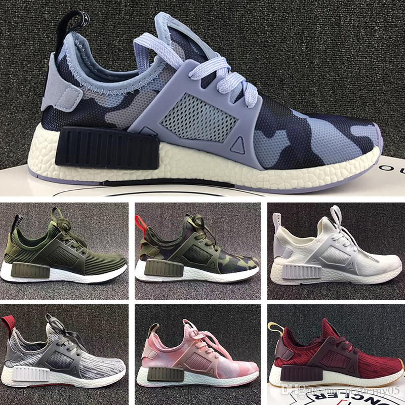 size 40 64235 60de1 Compre Adidas NMD XR1 2018 R2 XR1 Zapatillas Running Mastermind Japan Skull  Fall Verde Oliva Camo Glitch Negro Blanco Blue Cebra Pack Hombres Mujeres  ...