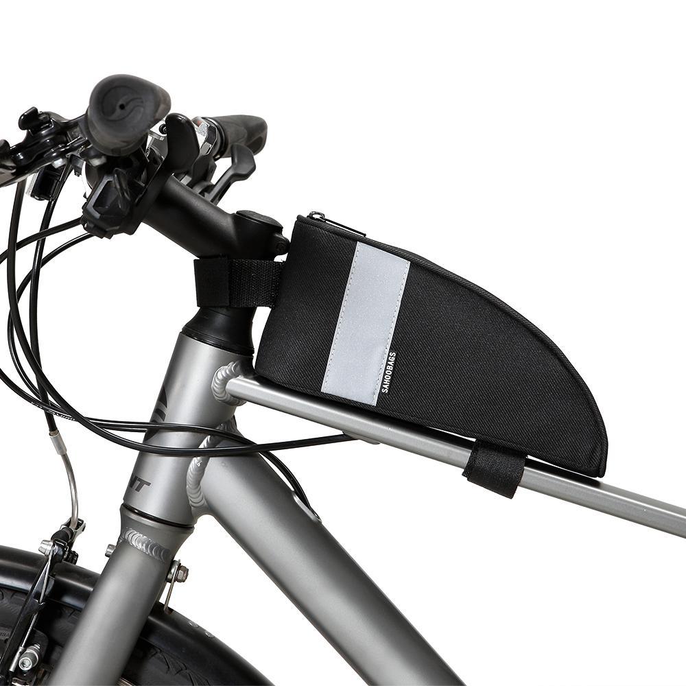 Sahoo Mtb Rennrad Fahrrad Taschen Wasserdicht Radfahren Frontrahmen Taschen Oberrohr Tasche Pannier Pouch Telefon Fall Fahrrad Zubehör