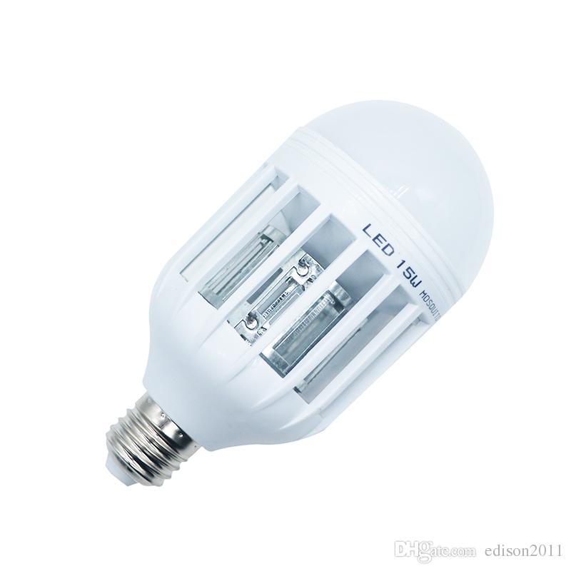 Edison2011 15 W LED Mosquito Assassino Lâmpada Luz Eco Mosquito Assassino Casa Anti-Mosquito Inseto Elétrico Assassino Lâmpada 110 V 220 V