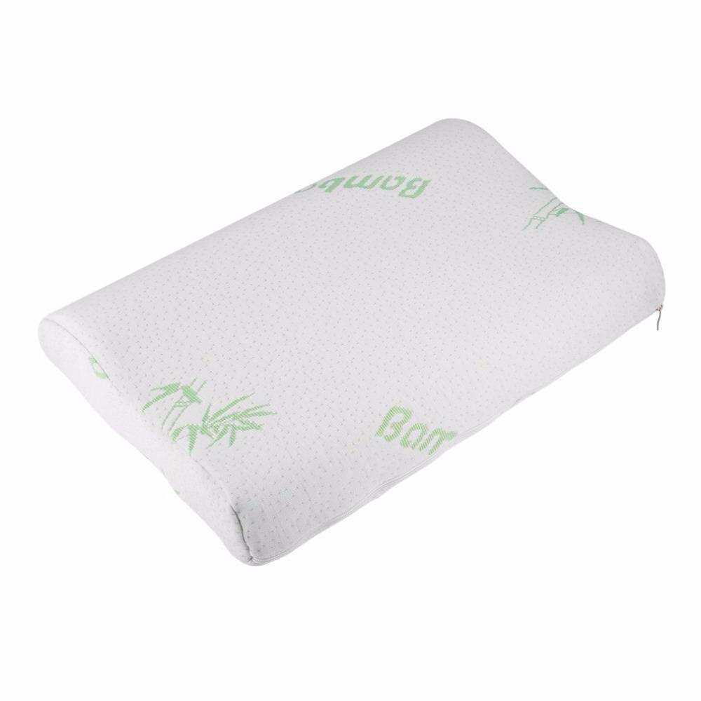 baby children bamboo pillow slow rebound memory foam pillow health