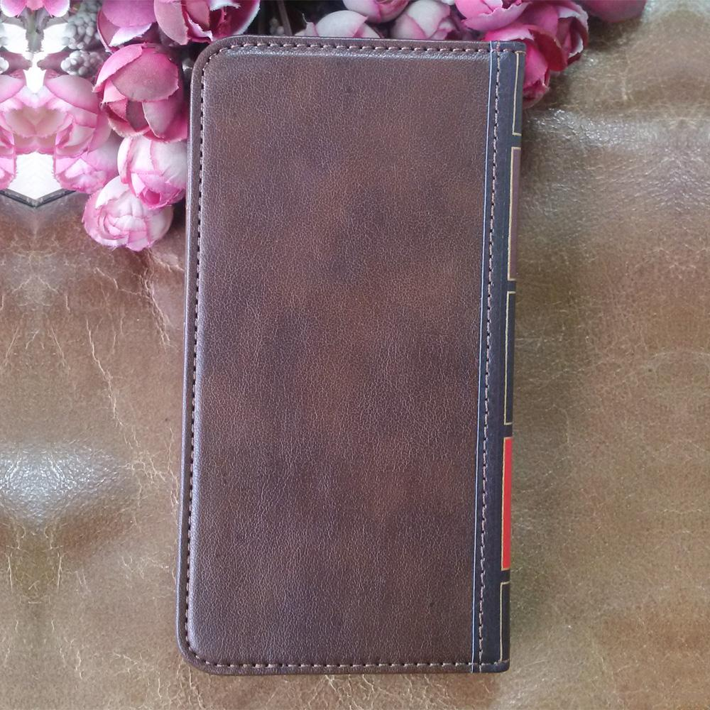 Flip Leather cell Phone Case for Samsung Galaxy A8 Star Cover Wallet Retro Bible Vintage Book Business Pouch