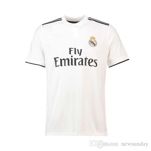 premium selection c64f9 3bbb0 2018 19 TOP Thai Quality Toni Kroos Customized name Soccer Jerseys real  madrid Football Jerseys 9 BENZEMA 11 BALE 7 RONALDO Football jerseys
