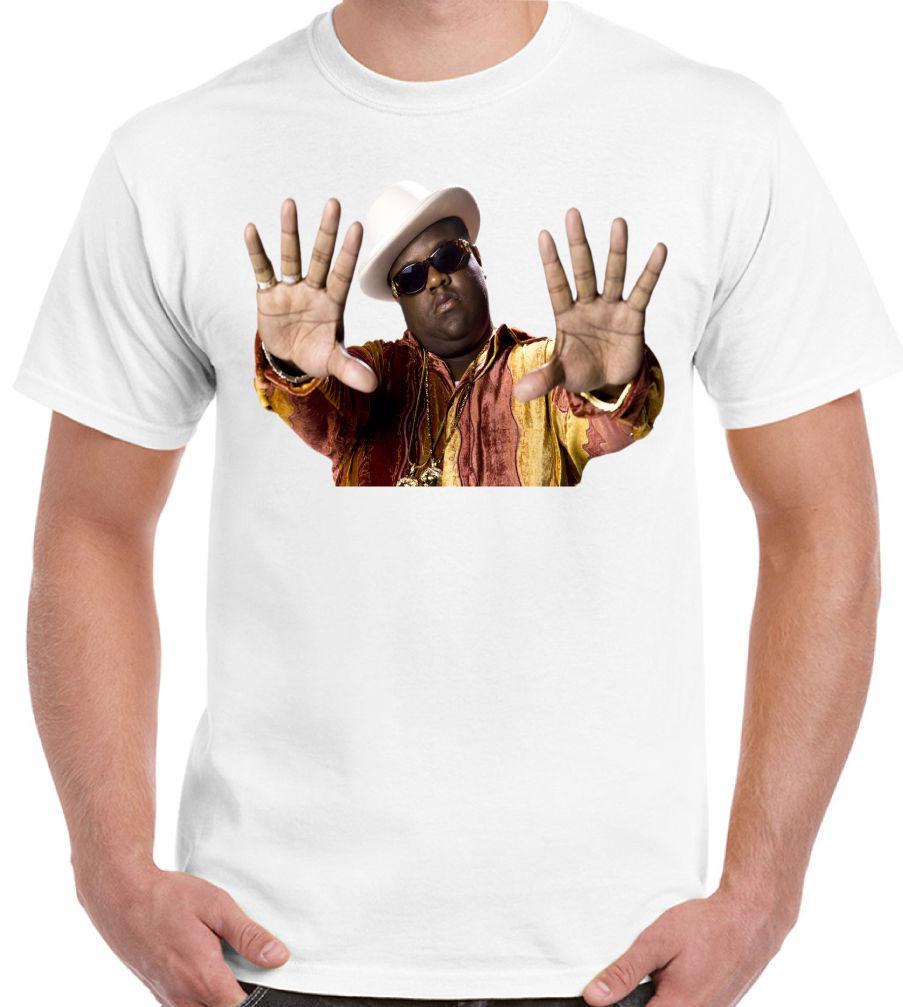 Compre The Notorious BIG Biggie Smalls Design 3 Camiseta Para Hombre Rap  Hip Hop A  10.99 Del Moretshirts26  acec3ea5e2d