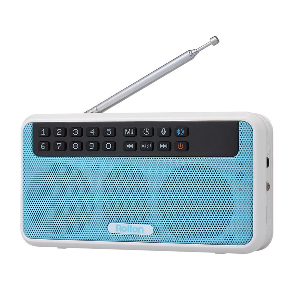 Tragbares Audio & Video Radio Tragbare Mini Radio Fm Lautsprecher Usb Mp3 Musik-player Unterstützung Tf Karte Mit Led-anzeige Hifi Stereo Receiver Digital Radio Empfänger