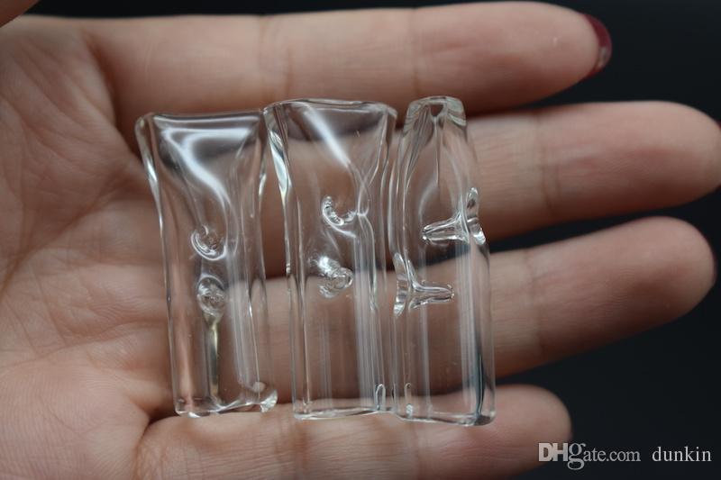 12 millimetri OD filtro in vetro punte tabacco a secco erba tabacco RAW rotoli con sigaretta tabacco colorato vetro tubi di fumo spedizione gratuita
