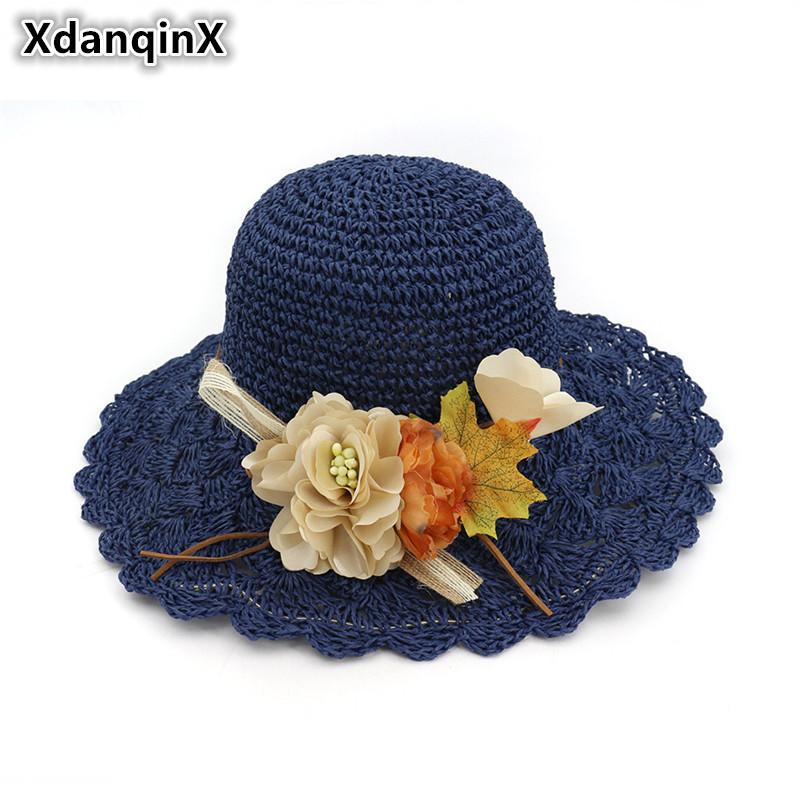 Women's Hats with Flowers