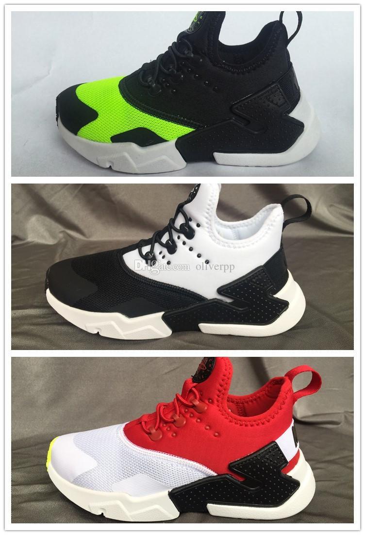 4c516179be02 2018 Hot Sale Children Air Huarache IV 4.0 Ultra Running Shoes Huraches  Boys Girls Shoes Baby Kids Triple Huaraches Sneakers Kid Shoe Cheap Sneakers  For ...