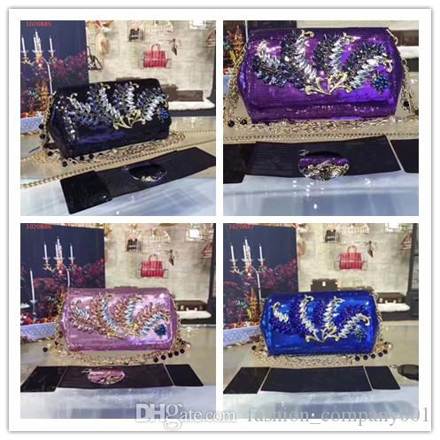 Press Conference New Style Fashion Sequins Bag Individual Character Is Very  Luxurious The Fashion That Inserts Diamond Party Chain Bag Duffle Bags  Messenger ... aa30ab95fdf9c