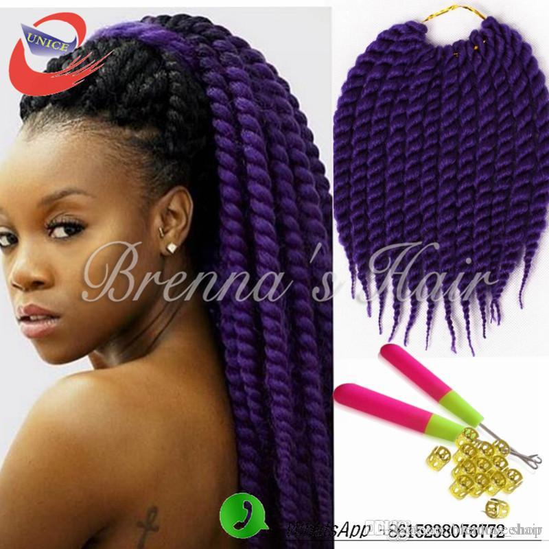 Best Synthetic Havana Jumbo Braids Twisted Hair Bundles Two Tone