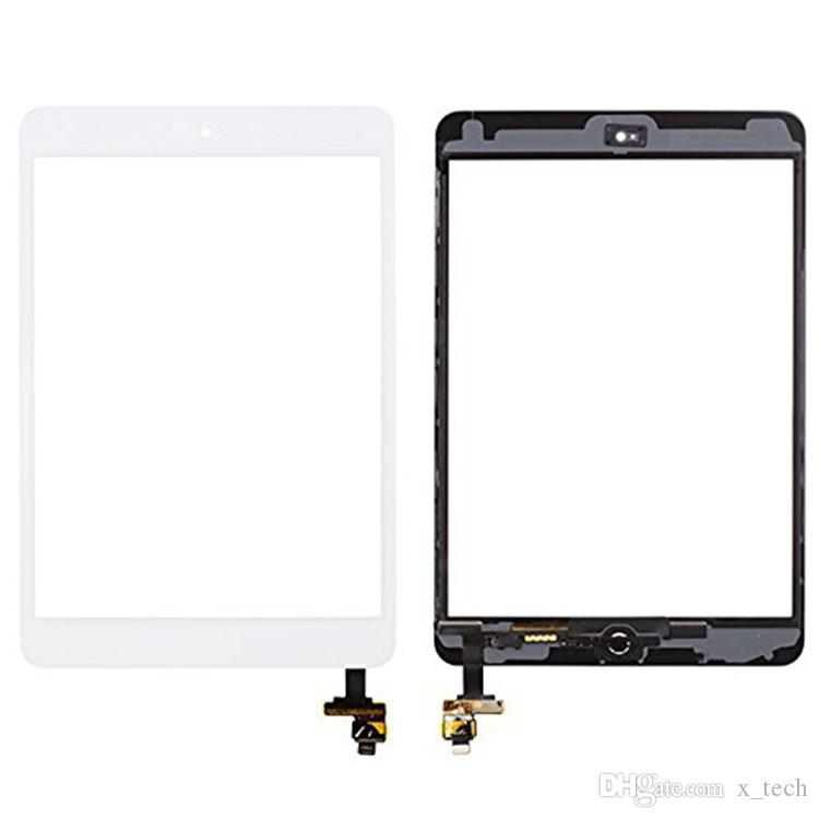 High quality Touch Screen Glass Panel with Digitizer with IC Connector for iPad Mini 3 Free DHL