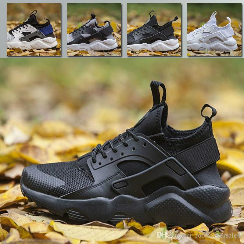 4f705392003622 2019 2018 Original Huarache 4.0 Classical Ultra Black Red White Men Women  Air Cushion Huarache Shoes Huaraches Sports Sneakers Running Shoe 36 46  From ...