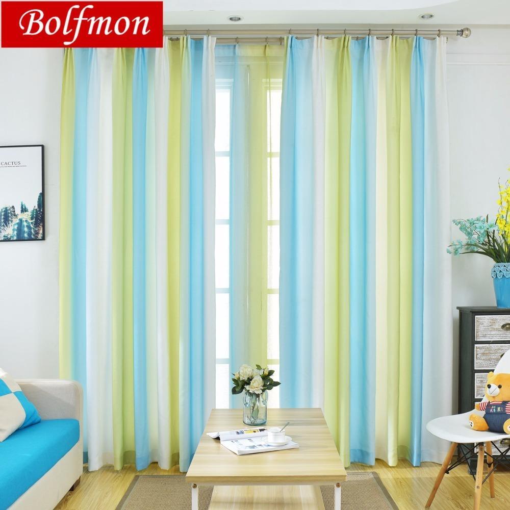 Großhandel Neue Bunte Regenbogen Schöne Fenster Vorhang Für
