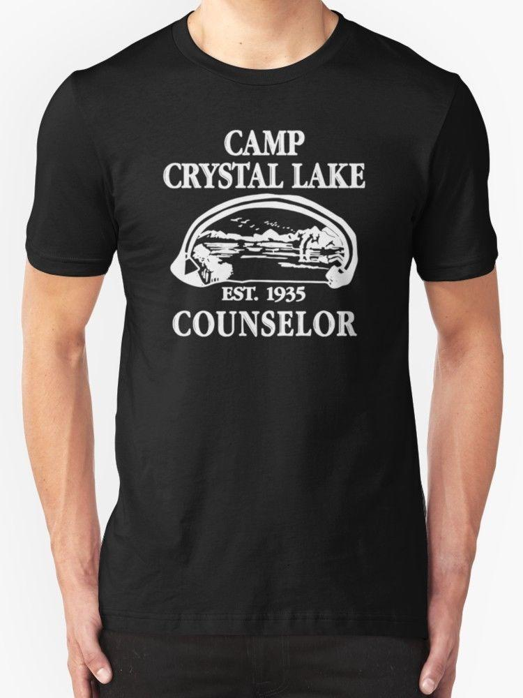 3fbe6f181cef New Camp Crystal Lake Counselor Copy Men S Clothing T Shirt Size Short  Sleeve Tshirt Tops High Quality Cotton Hip Hop Short Sleeve Shirts T Funky T  Shirts ...