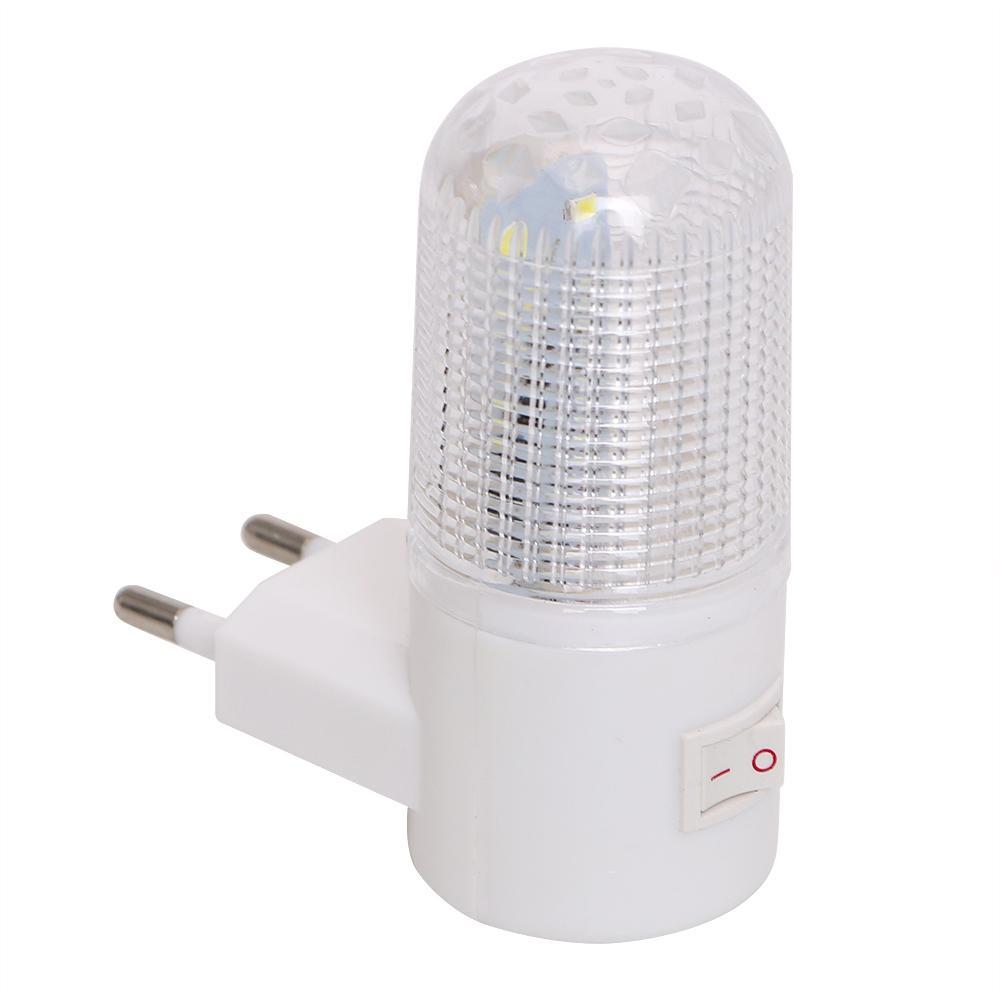 2018 emergency light wall lamp home lighting led night light eu plug emergency light wall lamp home lighting led night light eu plug bedside lamp wall mounted energy efficient 4 leds 3w aloadofball Choice Image