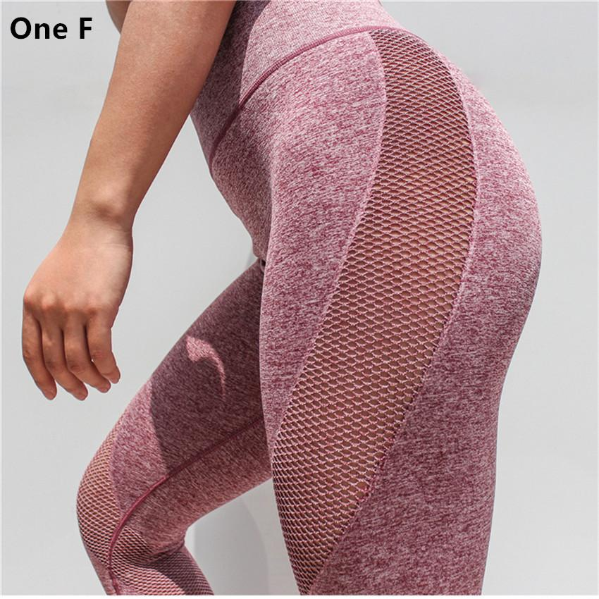 d22191628cfe3b Women's Side Hole Leggings High Waist Tummy Control Yoga Pants Gym Clothing  Strech Booty Lift Compression Fitness Sports Capri
