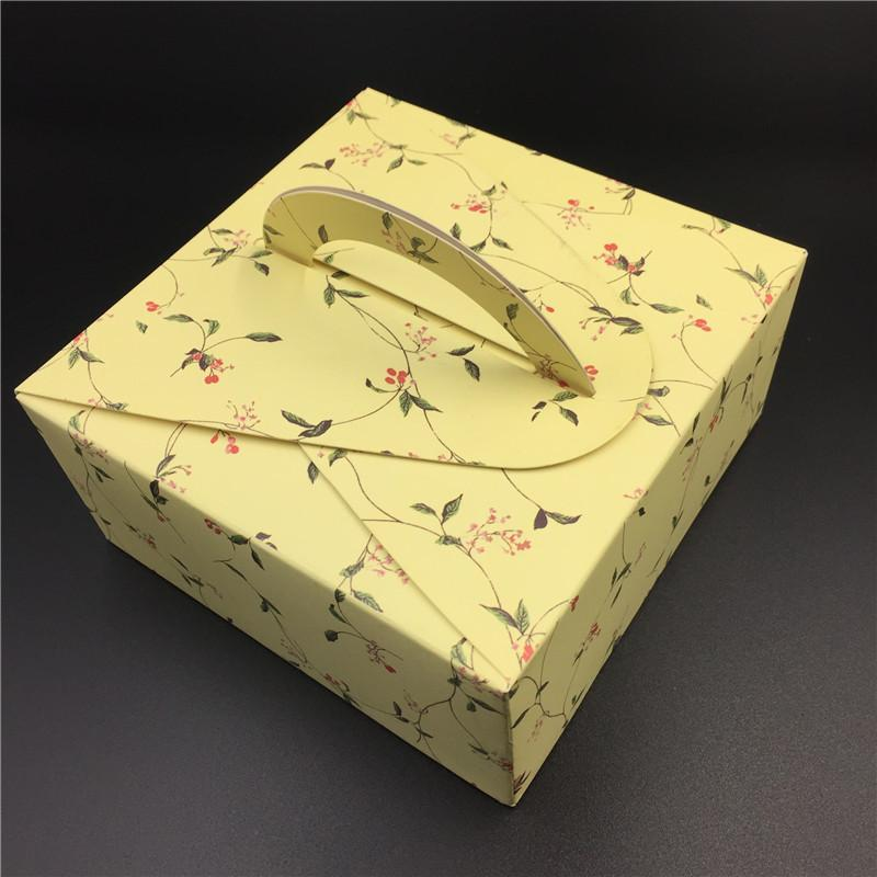 Portable Paper Cake Packaging Box Wedding Cake Boxes MooncakePastry Stunning Decorator Boxes