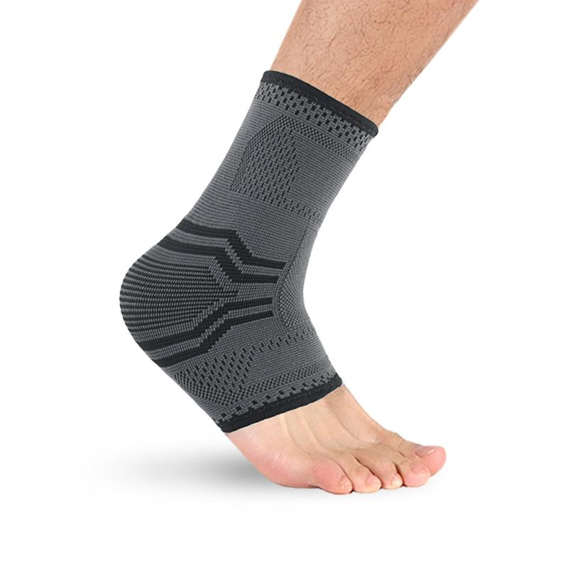 1b0db9d463 2019 Ankle Brace Knitting Foot Compression Support Sleeve Breathable Arch  Ankle Support Socks For Outdoor Indoor Sports New From Dragonfruit, ...