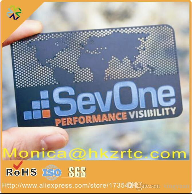 Acheter La Plus Grande Usine En Chine Carte De Visite Metal Acier Inoxydable Pas Cher 16674 Du Vingyuan