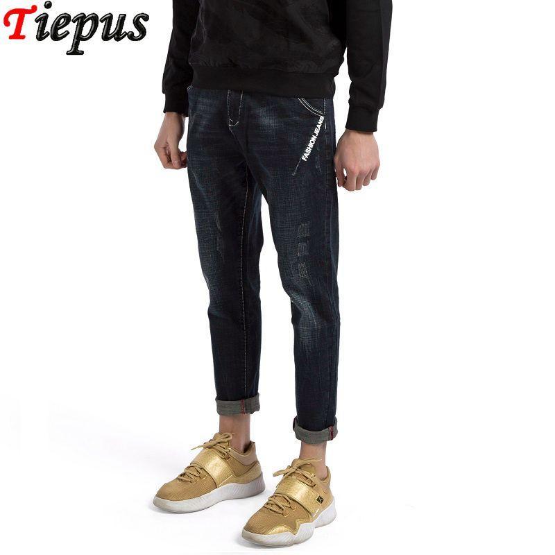 26502001e664 2019 2018 Designer Clothing High Street Fashion Jeans Mens Hip Hop  Streetwear Trend Hiphop Male Stylish Denim Pants Harem Pants Jeans From  Easme