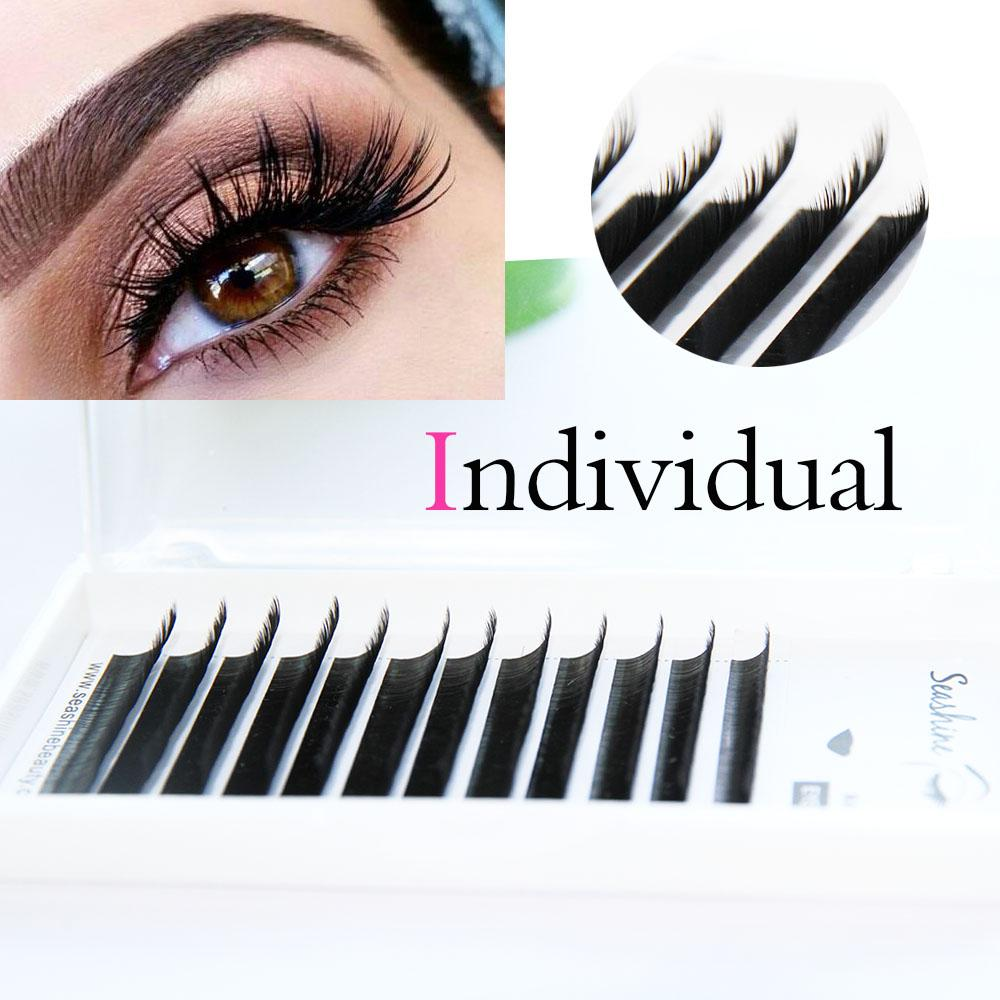 cf071925148 C D L Curl Silk Individual Lash Extensions Mix Length All Size Classic Lash  Immediately Shipping Volume Extension Fake Eyelashes False Eyelashes From  ...