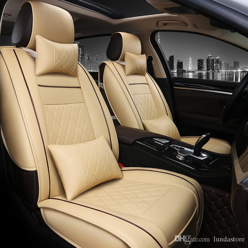 Special Luxury PU Leather Car Seat Covers For Toyota ...