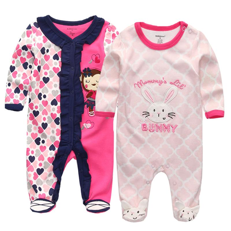 600af1ece815 2019 Baby Girls Boys Clothes Long Sleeve Cute Cartoon 100% Cotton Jumpsuits    Rompers Baby Clothing Set Roupas De Bebe Infantil From Babyya