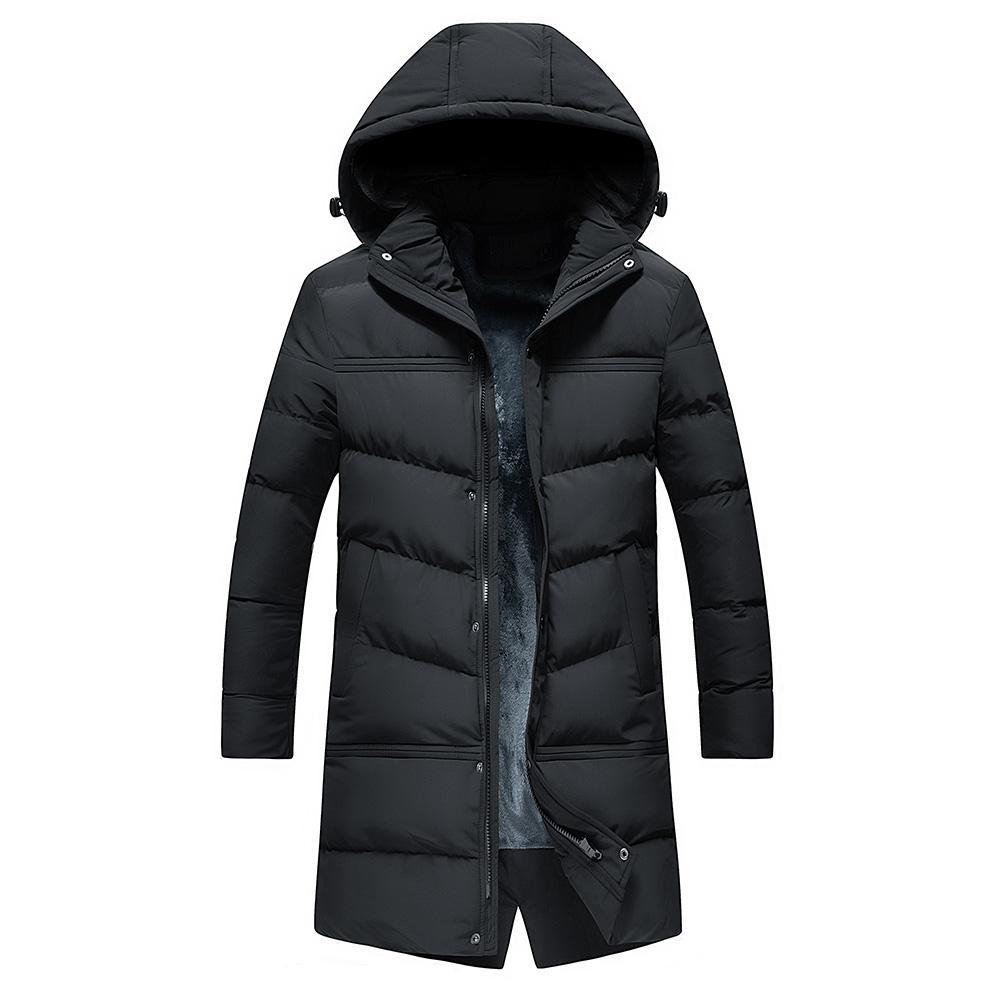 Acheter 2018 NOUVEAU WWKK Chaud D hiver Vestes Parkas Hommes Manteaux Trench  Coats Mâle Épais Rembourré Manteau Alaska Veste Outwear Chapeau Détachable  De ... 52e27a14c71c