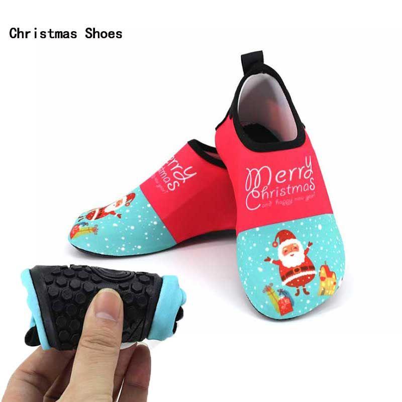 7d1b3725f865 Unisex Swimming Water Shoe Kids Santa Claus Quick Dry Anti Slip Barefoot  Skin Shoes Run Dive Surf Swim Beach Shoes Footwear Online Shopping Kids  Shoes Kids ...
