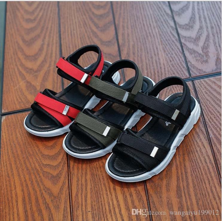 467c60ed6d4fc Korean Children S Sandals 2018 Summer New Boys And Girls Vietnam Beach  Men S Fashion Lovers Shoes Foreign Trade Tide Kids Footwear Online Shopping  Childrens ...