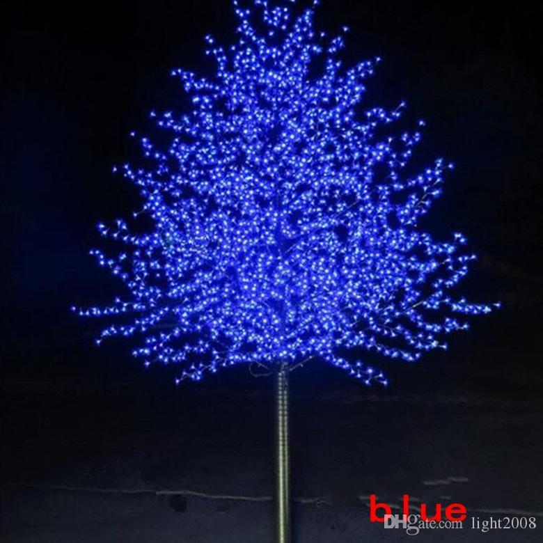 Artificial LED Cherry Blossom Tree night Light New year Christmas wedding Decoration Lights 1.5M~3M LED tree light wedding decoration